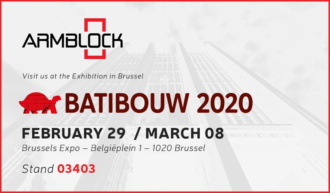 Armblock Batibouw 2020